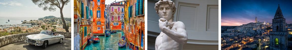 Almafi Coast _ Venice _ Florence David _ Matera