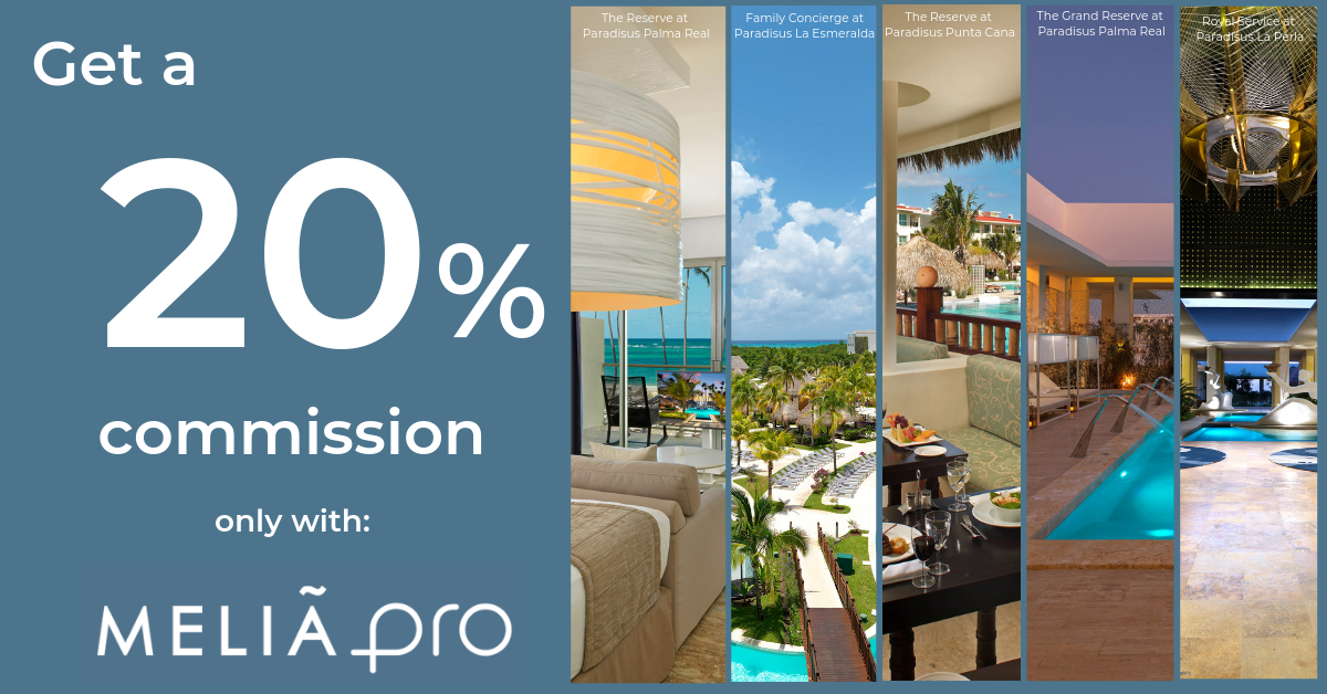 Meliá PRO's Amazing Offer for Travel Agents