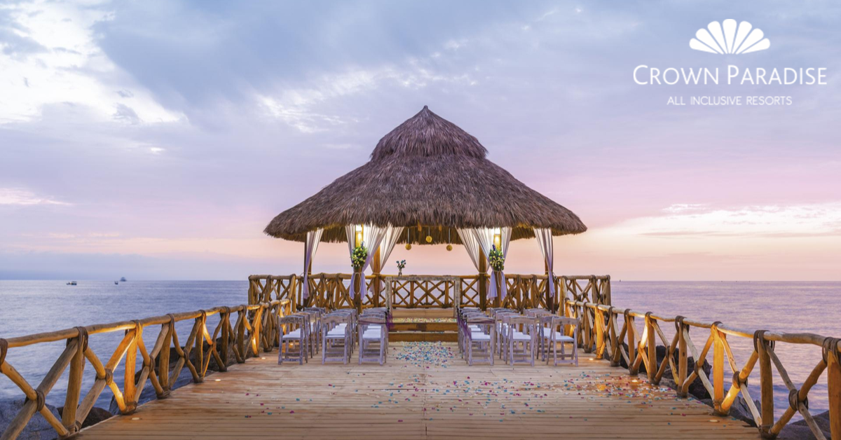 Tie the Knot in Mexico at Crown Paradise Resorts
