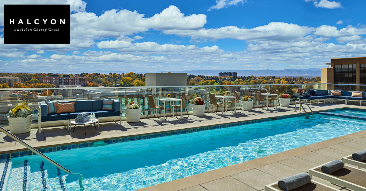 Halcyon Cherry Creek Rooftop Pool Deck
