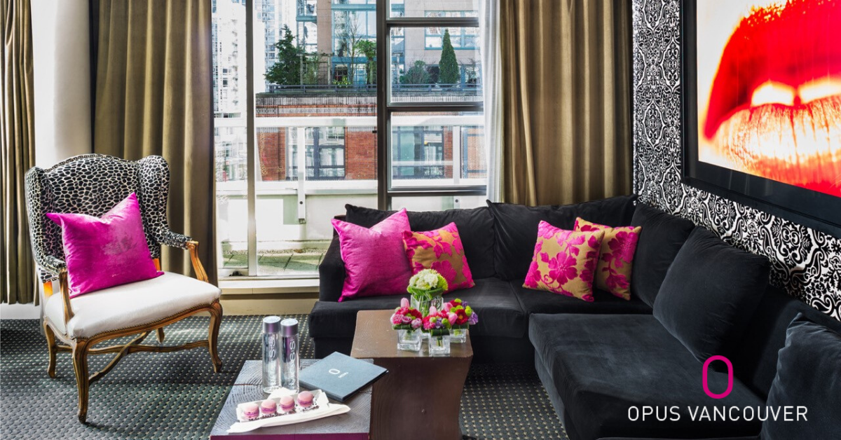 OPUS Vancouver: A World Where Boutique Hotel Meets Lifestyle