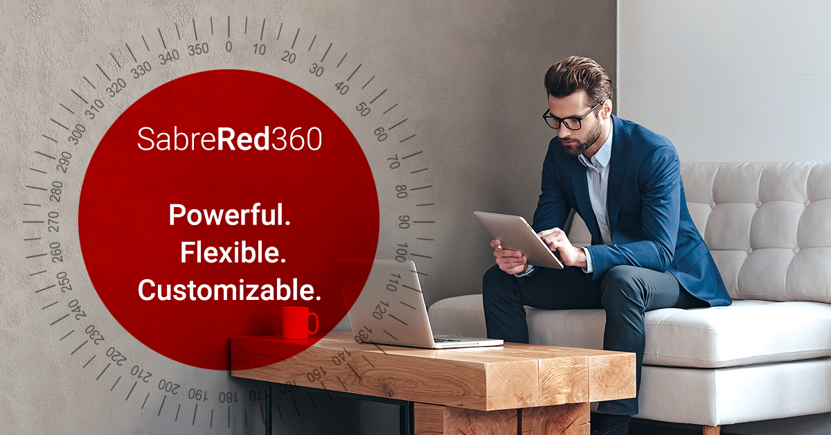 Bring the Entire Travel Spectrum into View with Sabre Red 360