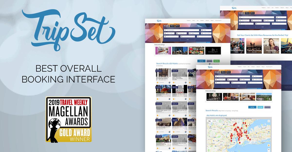 CCRA's TripSet Wins Gold Travel Weekly Magellan Award