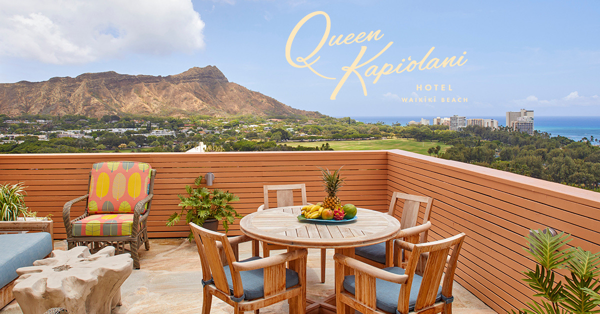 Queen Kapi'olani Hotel Unveils New Package Lineup
