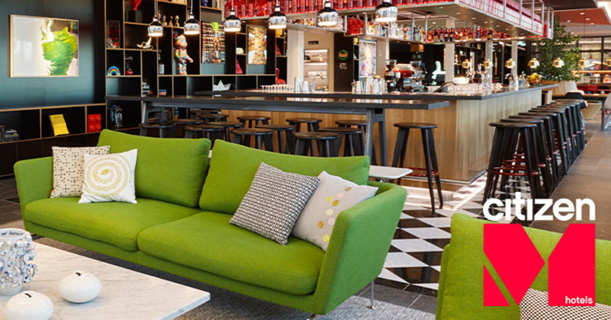 Some Companies End the Year with a Party - citizenM Ends with Two New Hotel Openings.